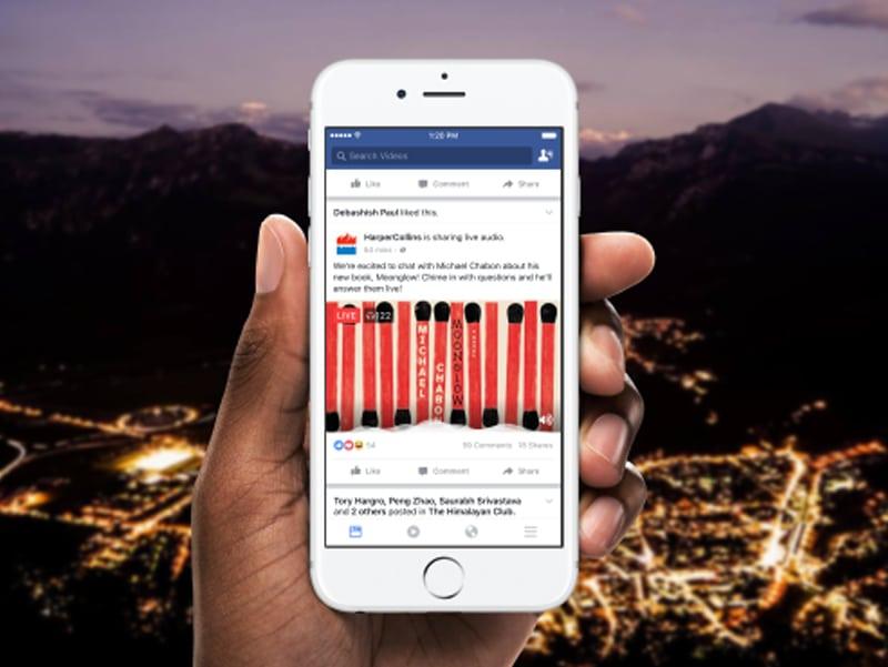 Comment utiliser Facebook Live Audio lors de vos événements