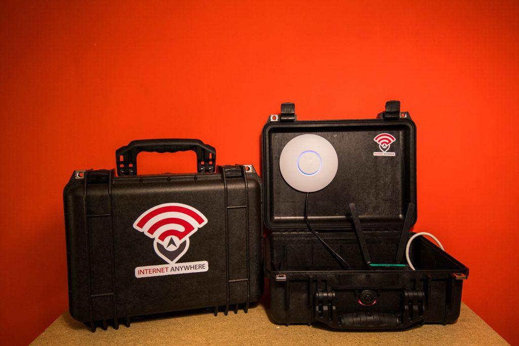 routeur 4G wifi événementiel mallette connectée