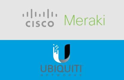 Meraki vs Unifi Cisco et Ubiquiti wifi événementiel front